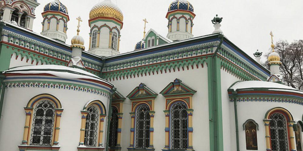 Храм свт. Николая Мирликийского на Рогожском кладбище