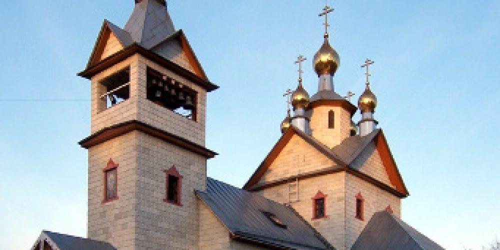 Храм св. ап. Андрея Первозванного в Люблине (строящийся)