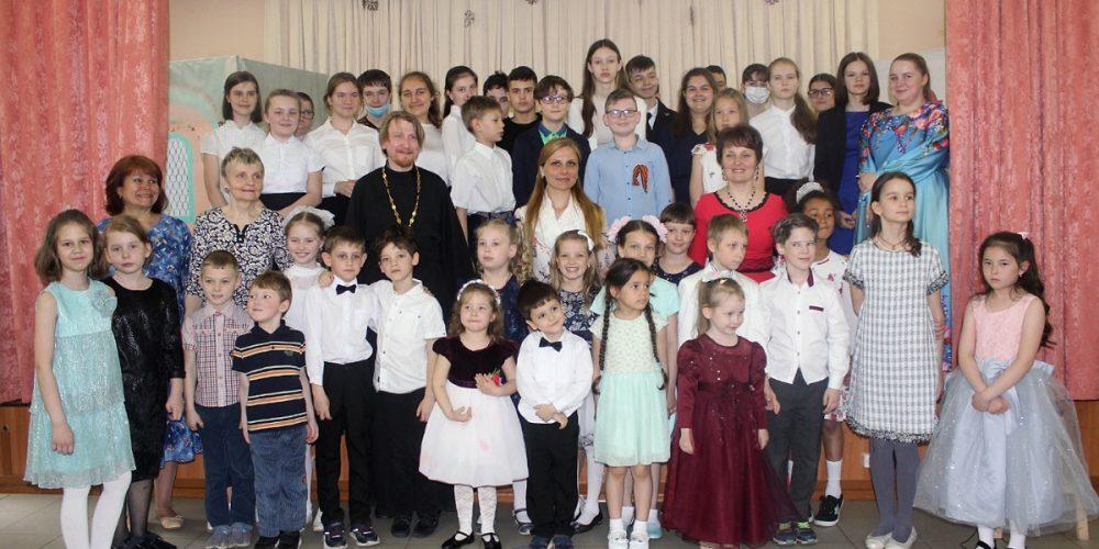 Пасхальный концерт в воскресной школе храма иконы Божией Матери «Утоли моя печали» в Марьине