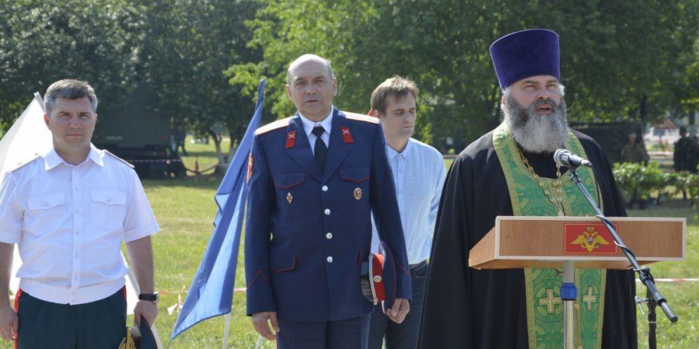 Иерей Марк Кравченко принял участие в торжествах Кантемировской дивизии