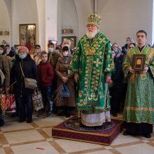 Патриаршее поздравление митрополиту Валентину (Мищуку) с 45-летием архиерейской хиротонии