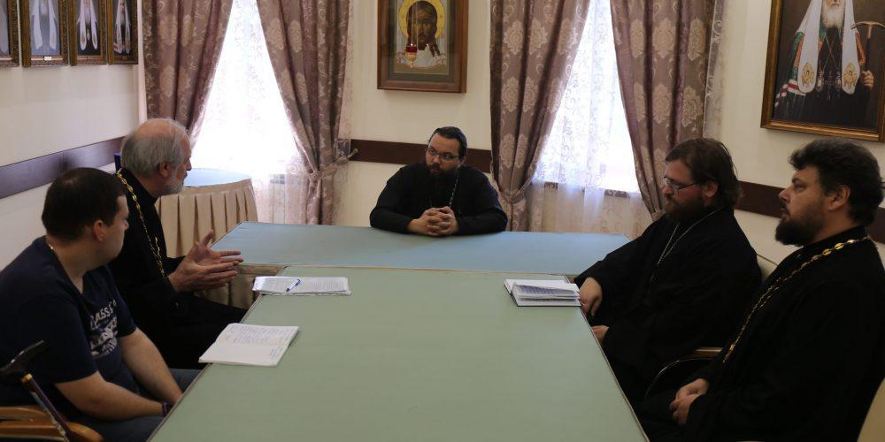 В Северо-Восточном викариатстве откроется православный центр по работе с молодыми инвалидами