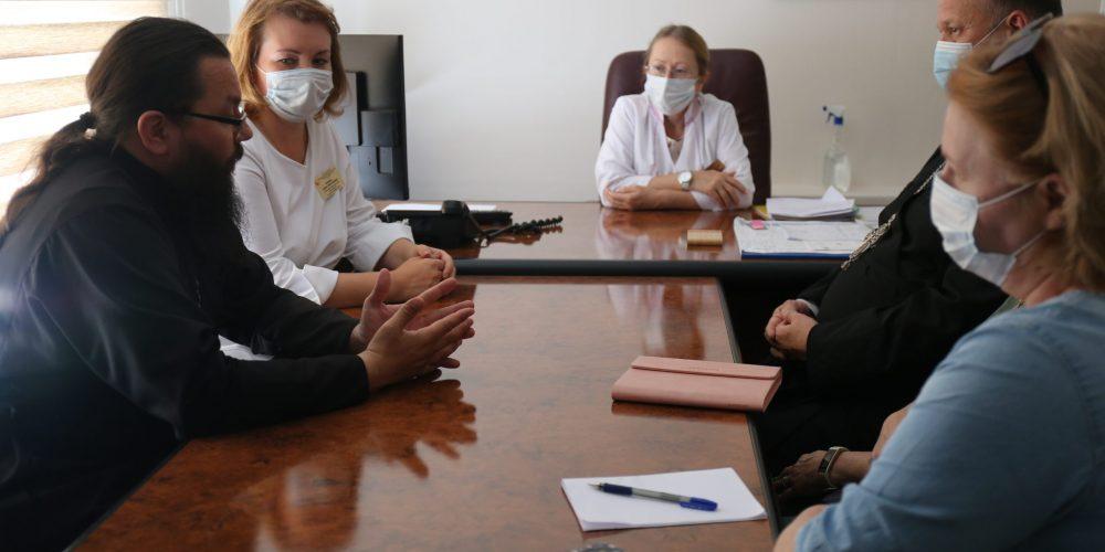 Архиепископ Егорьевский Матфей посетил Московский центр медицинской реабилитации, восстановительной и спортивной медицины
