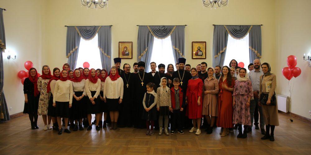 В праздник Светлого Христова Воскресения владыка Матфей встретился с православной молодежью Юго-Востока и Северо-Востока столицы