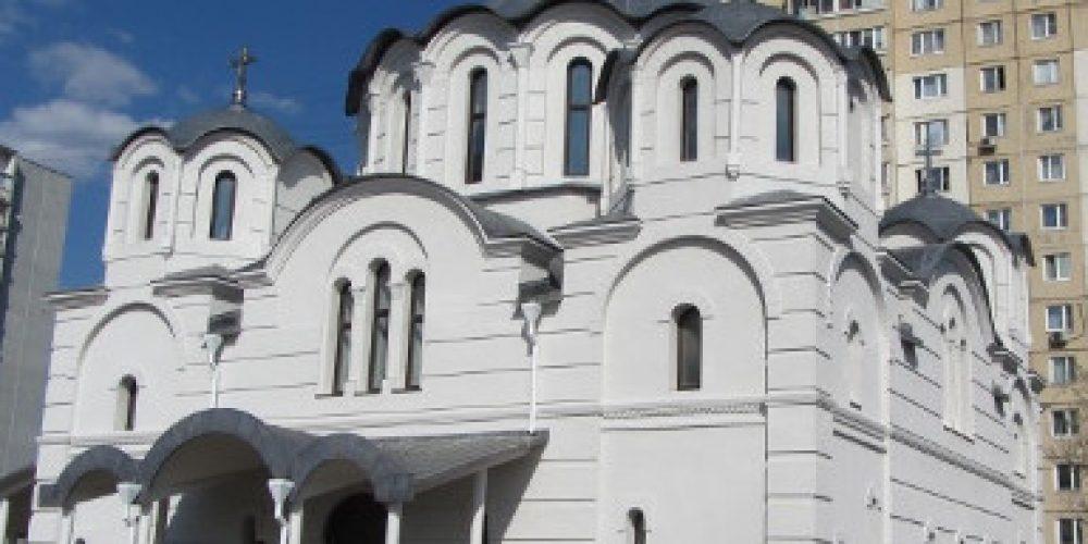 Храм иконы Божией Матери «Воспитание» в Некрасовке