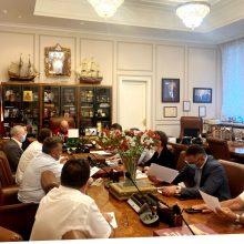 Состоялось совещание по строительству храма святых благоверных князей Петра и Февронии в Марьине