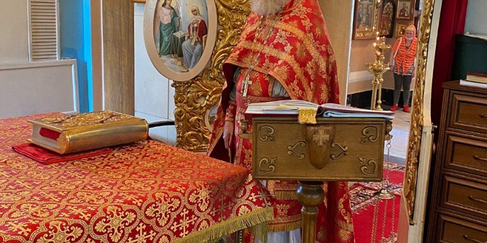 День памяти священномученика Николая (Порецкого) в храме Влахернской иконы Божией Матери в Кузьминках