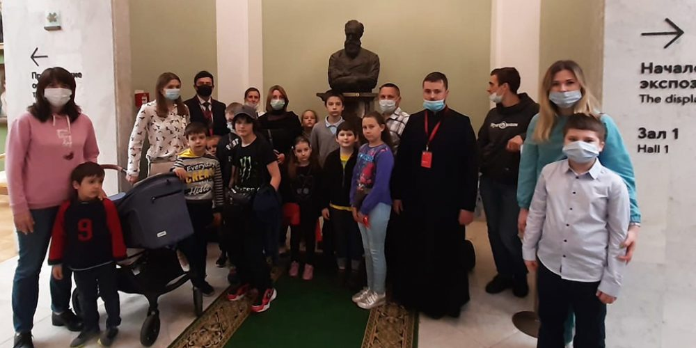 Посещение Третьяковской галереи воспитанниками детской воскресной группы храма святителя Димитрия Ростовского на Рязанке