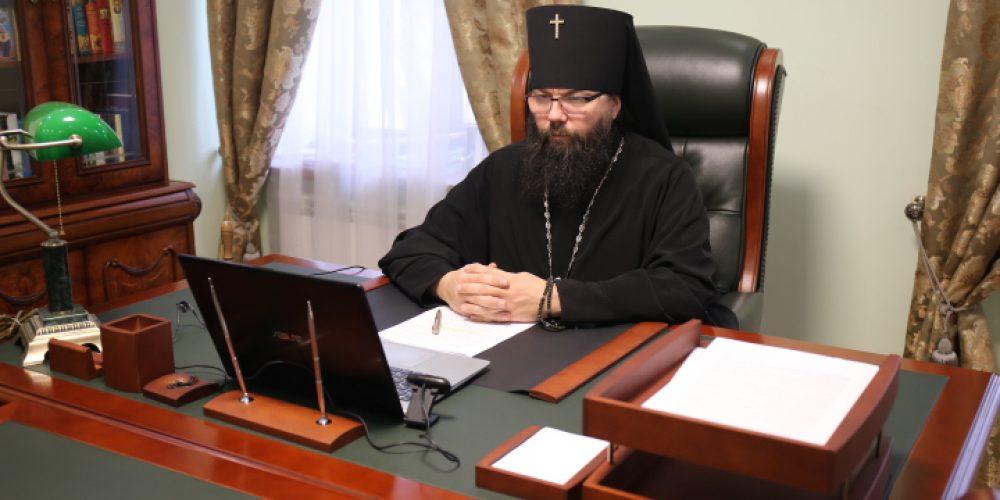 Архиепископ Егорьевский Матфей принял участие в совещании по строительству храмов на юго-востоке столицы