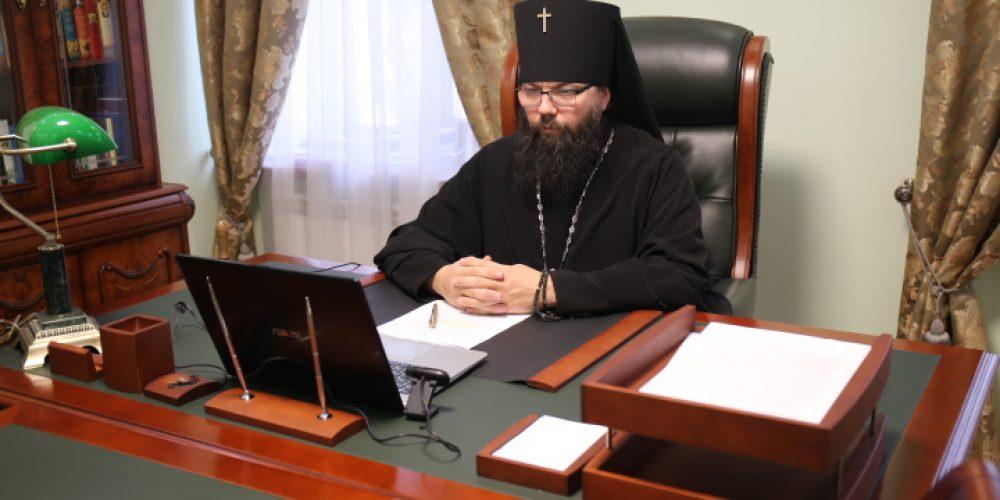 Архиепископ Егорьевский Матфей принял участие в совещании по вопросам строительства храмов в Юго-Восточном округе столицы