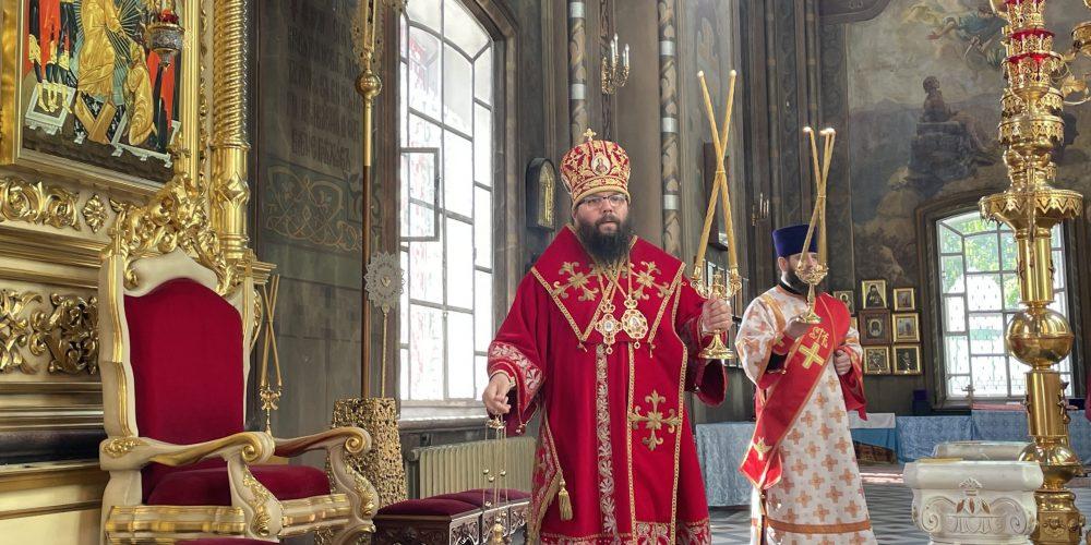 Архиепископ Егорьевский Матфей возглавил богослужение в Николо-Перервинском монастыре в день престольного праздника обители