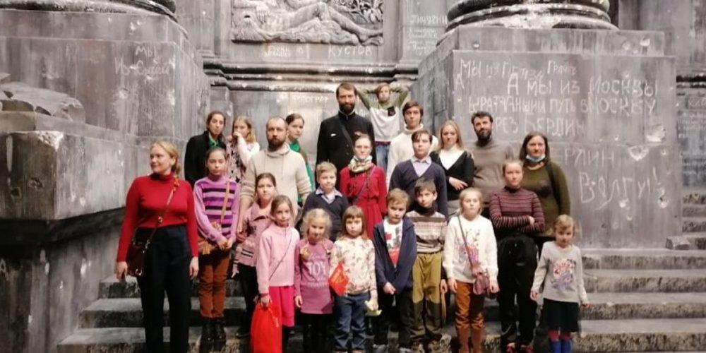 Посещение музея Победы прихожанами храма святого равноапостольного князя Владимира в Кузьминках