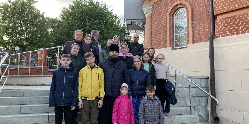 Завершение учебного года в воскресной школе храма святого праведного Симеона Верхотурского в Марьине