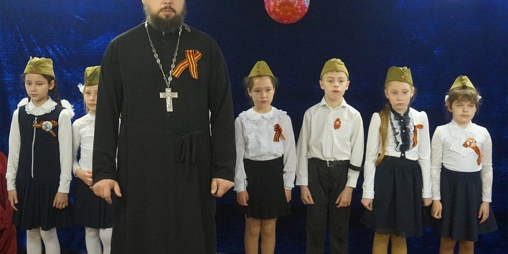 Праздник Победы в храме святого праведного Симеона Верхотурского в Марьине