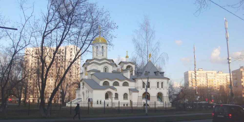 Проект храма Курско-Коренной иконы Божией Матери в Вязовке подан на утверждение в Москомархитектуру