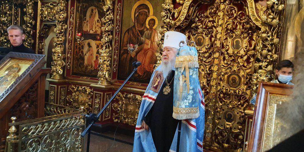 В Петропавловском храме в Лефортове почтили память митрополита Никодима (Ротова)