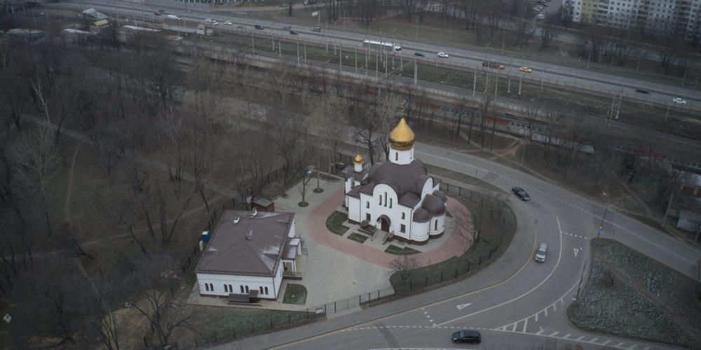 Совершено великое освящение храма святителя Димитрия Ростовского на Рязанке