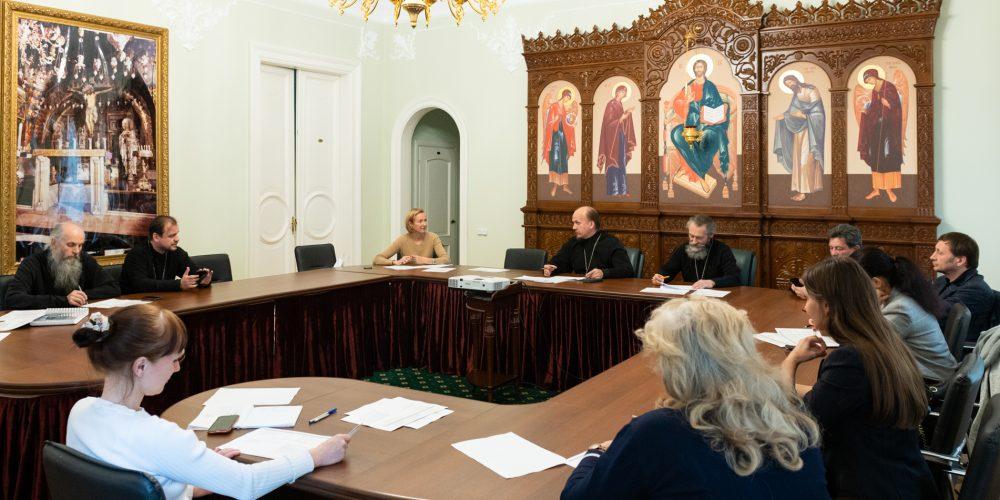 Вопрос строительства храма преподобного Паисия Святогорца в Выхине обсудили в Финансово-хозяйственном управлении