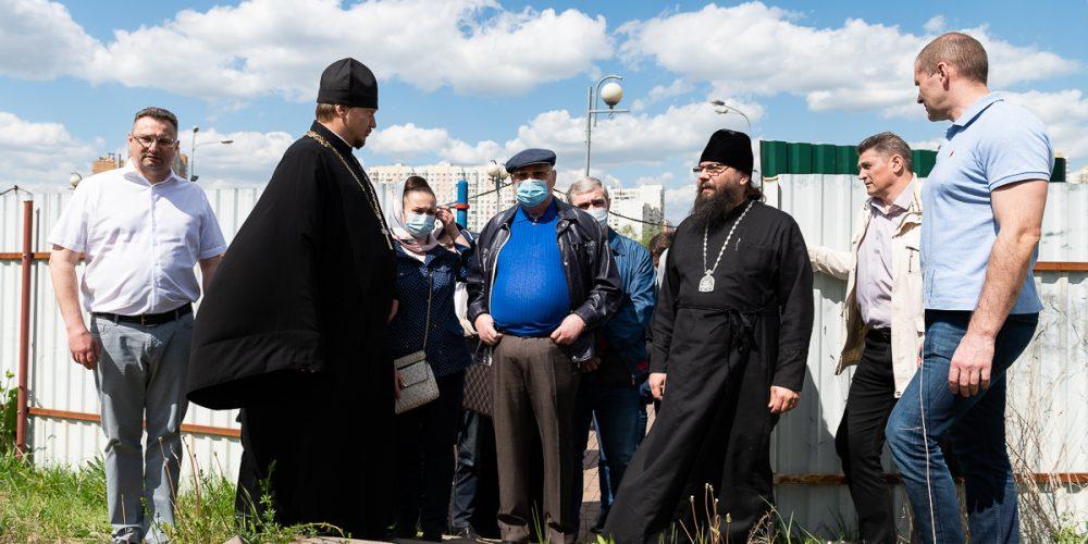 в Юго-Восточном викариатстве состоялось выездное совещание по Программе строительства православных храмов в городе Москве