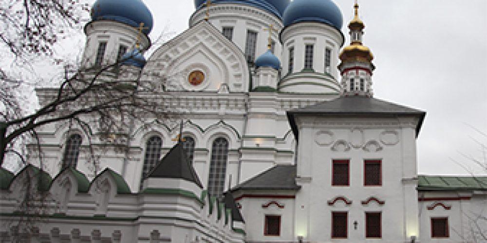Храмы б. Николо-Перервинского монастыря