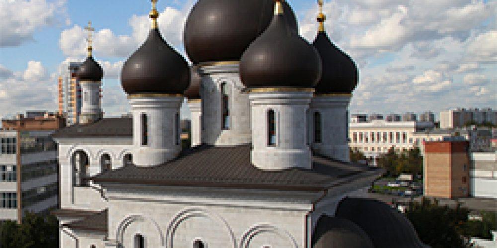 Храм прп. Сергия Радонежского на Рязанке