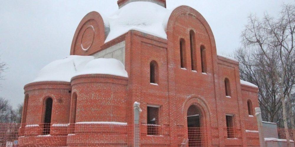 Храм святителя Димитрия, митрополита Ростовского на Рязанке (строящийся)