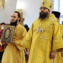Архиерейское богослужение в день годовщины смерти протоиерея Димитрия Арзуманова в храме Сретения Господня в Жулебине