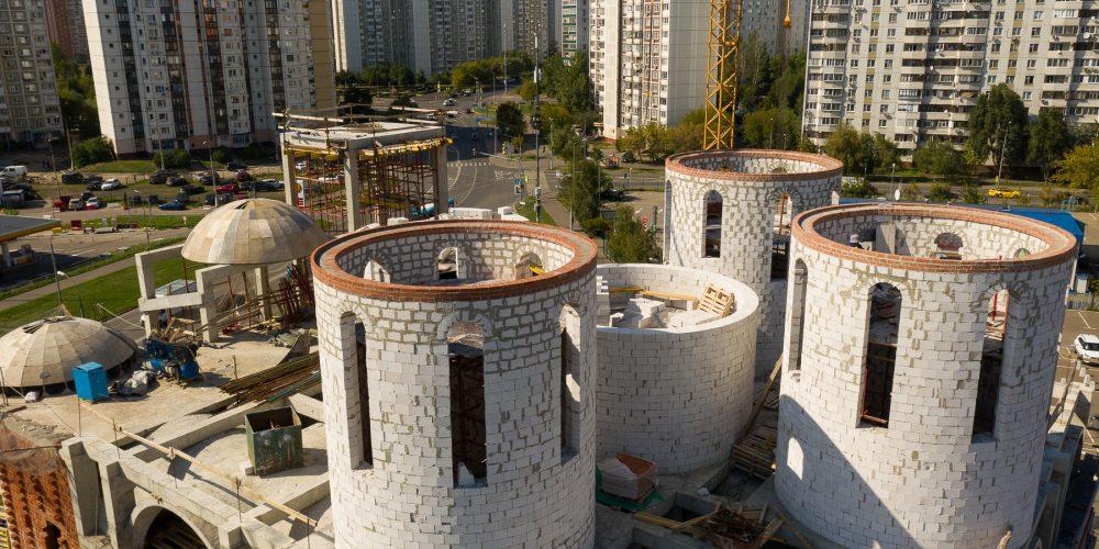Храм Воскресения Словущего в Марьине планируется ввести в эксплуатацию в 2023 году