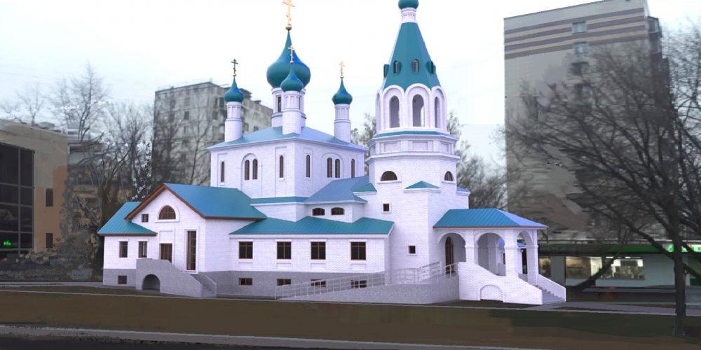 Архитектурно-градостроительное решение храма прп. Александра Свирского в Грайворонове передано на согласование в Москомархитектуру