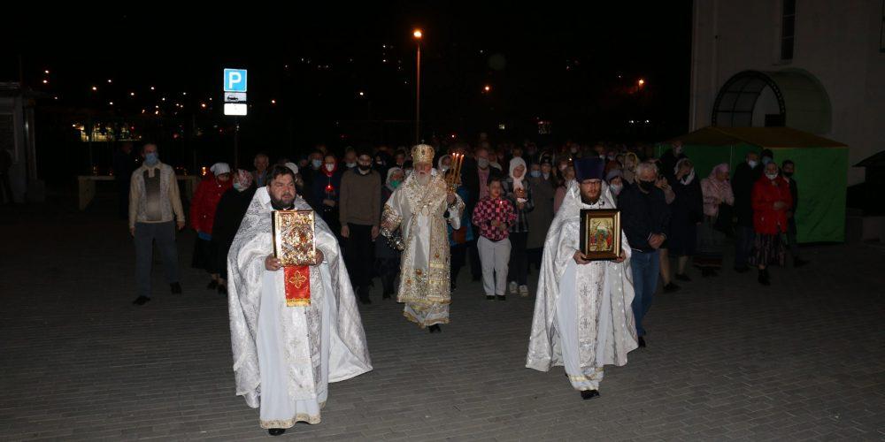 Воскресение Христово в храме святого благоверного князя Андрея Боголюбского на Волжском