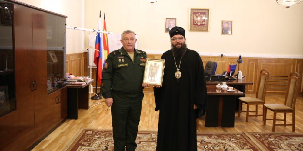 Управляющий Юго-Восточным викариатством посетил Московское высшее общевойсковое командное училище