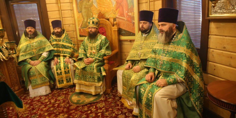 Архиепископ Егорьевский Матфей возглавил престольные торжества в храме святого праведного Симеона Верхотурского в Марьине