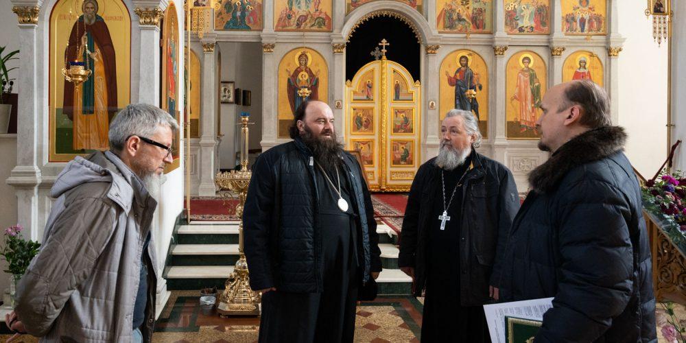 Председатель ФХУ провел выездное совещание на приходе храма мученицы Татианы Римской в Люблине