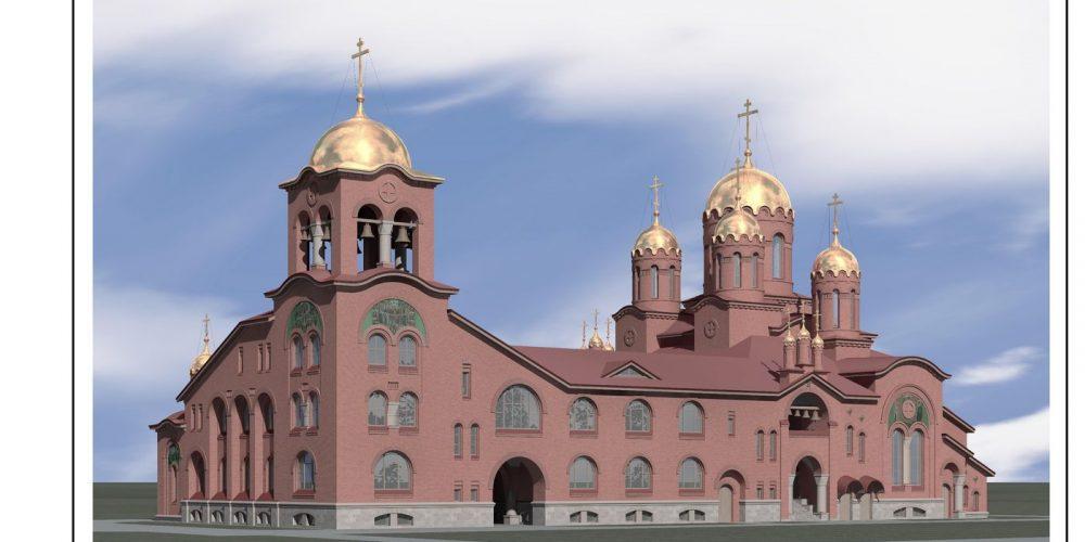 Москомархитектура утвердила архитектурно-градостроительное решение храма прп. Паисия Святогорца в Выхине