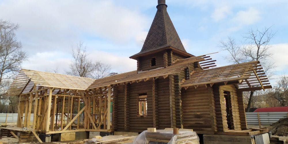 Завершается возведение храма святителя Николая Чудотворца в Лефортове