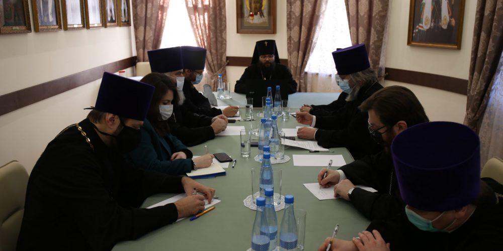 Прошло первое совещание организационного комитета по подготовке регионального этапа XXIХ Международных Рождественских образовательных чтений в рамках Юго-Восточного округа г. Москвы