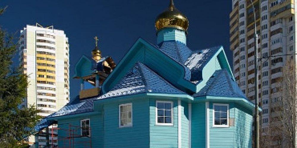 Храм свв. Жен-Мироносиц в Марьине (строящийся)